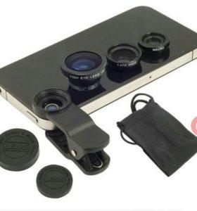 Линзы для телефона(Fish Eye Lens)✨