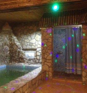 Сауна с бассейном 👑