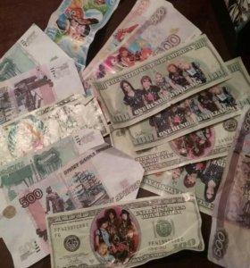 Игрушка Чехол и деньги