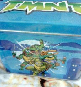 Карточки и комиксы черепашки ниндзя