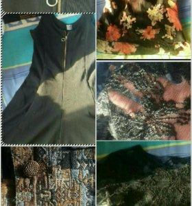 Юбка шорты сарафан жилетка блузки 46 48