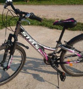 подростоковый велосипед STELS