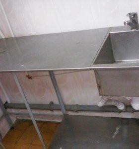 столы из нержавеющей стали для общепита