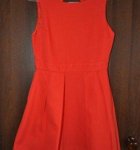 Платье с открытой спиной Zara