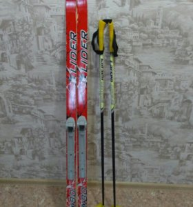 Лыжи+палки