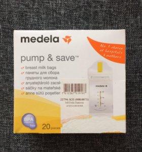 Новые пакеты для грудного молока