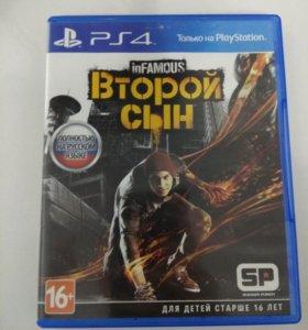 Игра на PS4 InFAMOUS Second Son