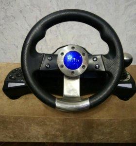 Гоночный руль Oklick W-3 Sportline