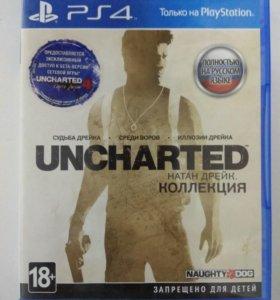 Игра на PS4 UNCHARTED Коллекция 3 части
