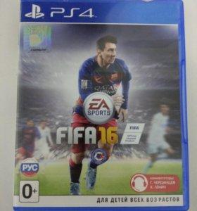 Игра на PS4 FIFA 16