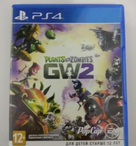 Игра на PS4 Plants vs Zombies 2