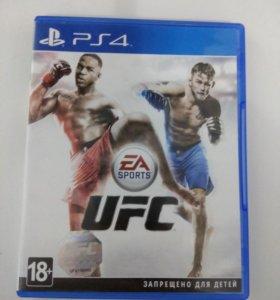 Игра на PS4 UFC