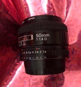 Nikon 50mm 1.4 D