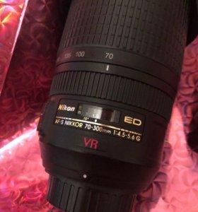 Nikon 70-300mm 4.5-5.6 G VR