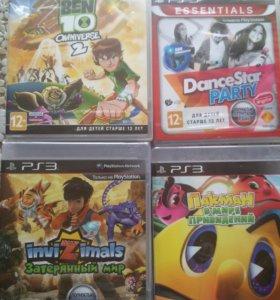 НОВЫЕ Диски для PS3