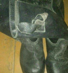 Кирзовые сапоги новые
