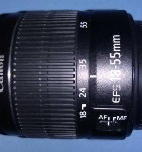 Объектив Canon EF-S 18-55 mm f/3.5-5.6