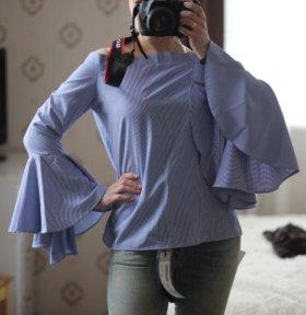Новая блуза с биркой 42-46р