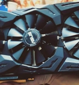 Видеокарта asus strix gaming GeForce GTX 1070