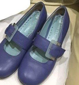 Туфли новые нат.кожа р.35
