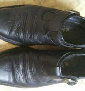 Туфли натуральный кожи