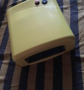 УФ лампа,база,топ для гель лака Kodi,4 гель лака