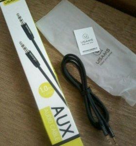 Аудио-кабель 1м AUX