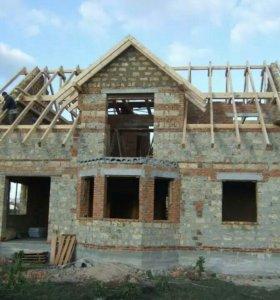Строительство домов.Ремонт квартир.