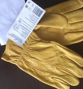 Перчатки кожаные,для защиты от механ.воздействий