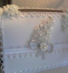 Свадебная атрибутика ручной работы