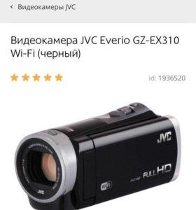 Видеокамера JVC Everio GZ-EX310 Wi-Fi (черный)