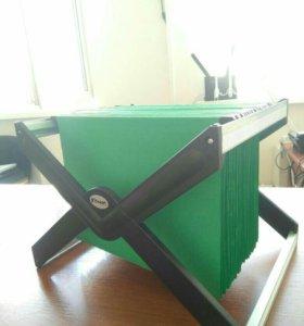 Подвесные папки 25 штук с органайзером