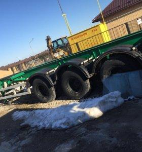 Прицеп площадка,для перевозки большегрузов
