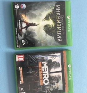 Диск на Xbox one Metro продано.