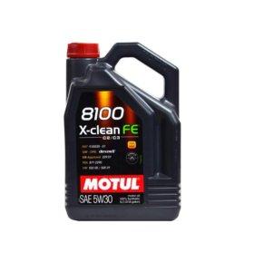 Моторное масло Motul x-clean FE 5w-30 4 литра!
