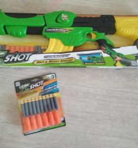 Детский пистолет новый
