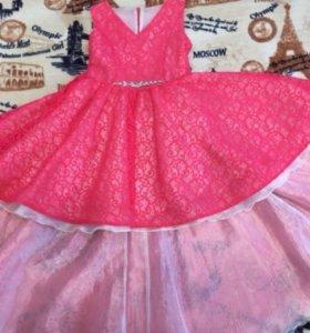 Платье выпускное 10-11 лет