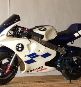 Детский бензиновый мотоцикл