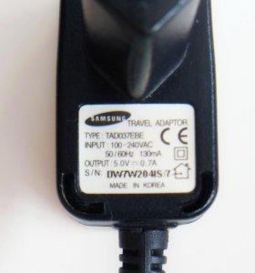 Зарядное устр. для Samsung+гарнитура