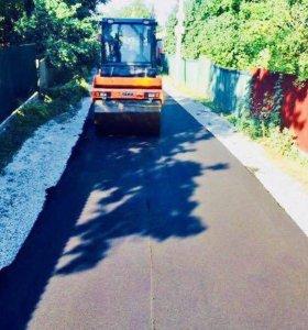 Строительство и ремонт дачных дорог