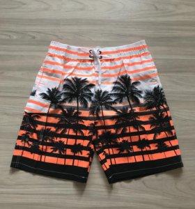 Новые мужские пляжные шорты плавки