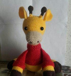 Жираф ручной работы