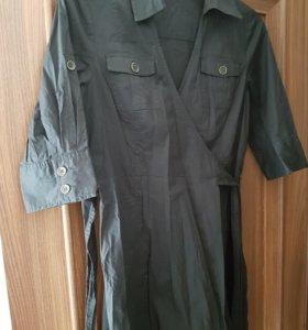 Платье-сафари новое 44-48