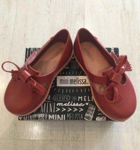 """Туфельки для девочки """"mini melissa"""""""