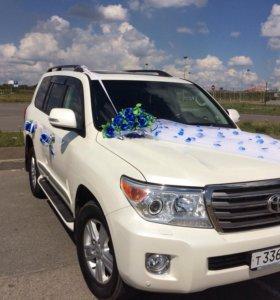 Аренда Toyota land cruiser 200 на свадьбу