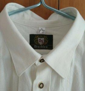Рубашка,лён(56)