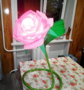 цветок светильник