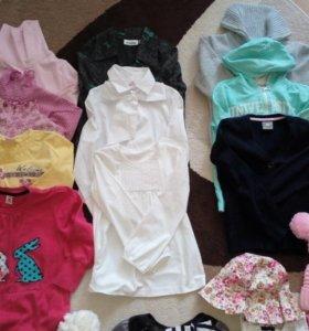 Вещи для девочки 6-8 лет, пакетом