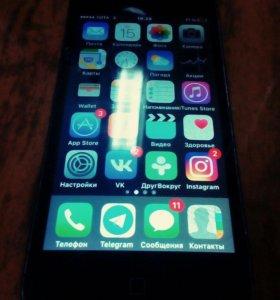 iPhone 5. На 16