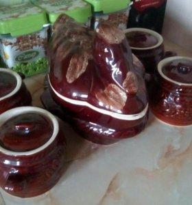 Горшки для запекания  в духовке